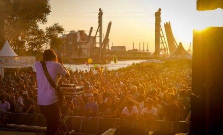 Sekuoia live auf dem Dockville Festival