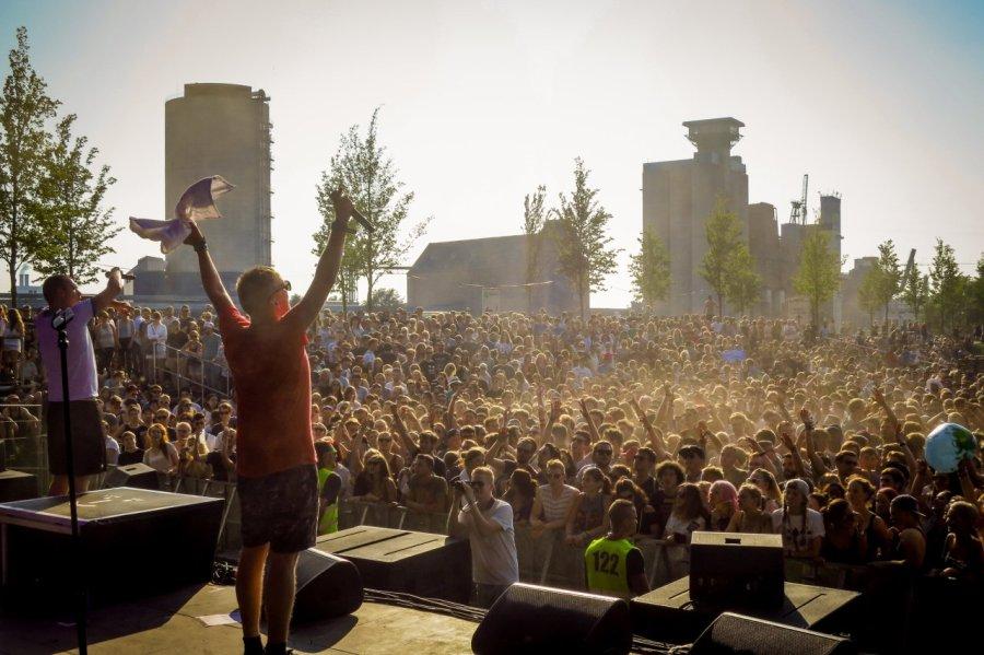 Zugezogen Maskulin live auf dem Dockville Festival