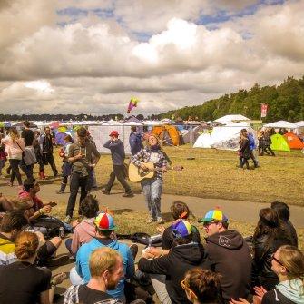 Campingplatz auf dem Hurricane Festival 2015