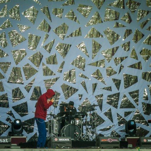 Oscar & The Wolf live auf dem Hurricane Festival