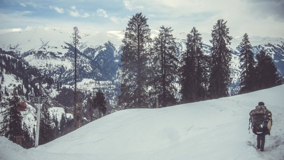 Skigebiet in Manali