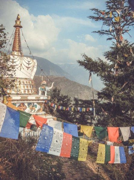 Wimpel in McLeod Ganj (Upper Dharamsala)