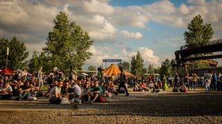Festivalgelände Colours of Ostrava 2016