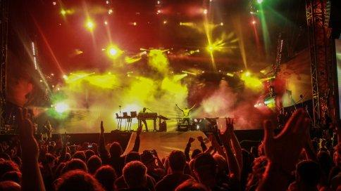 Underworld live Colours of Ostrava Festival 2016