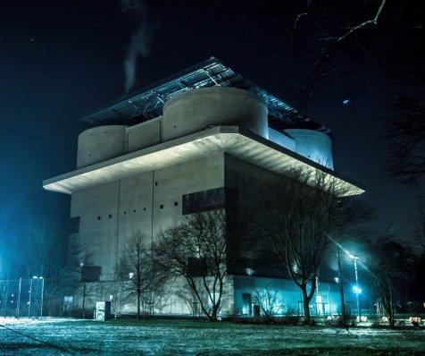 Energiebunker in Wilhelmsburg