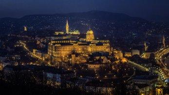 Burgpalast in Buda, Budapest
