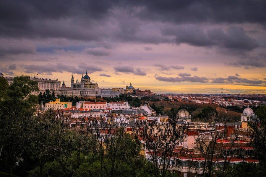 Skyline von Madrid