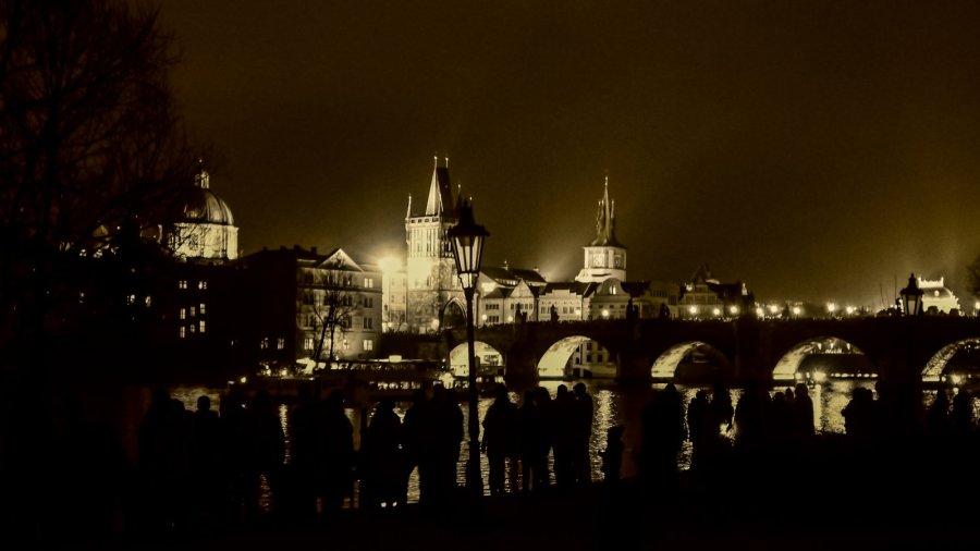 Prag nachts