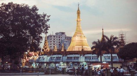 Sule-Pagode in Rangun