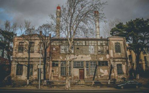 Ein Haus in Tiflis