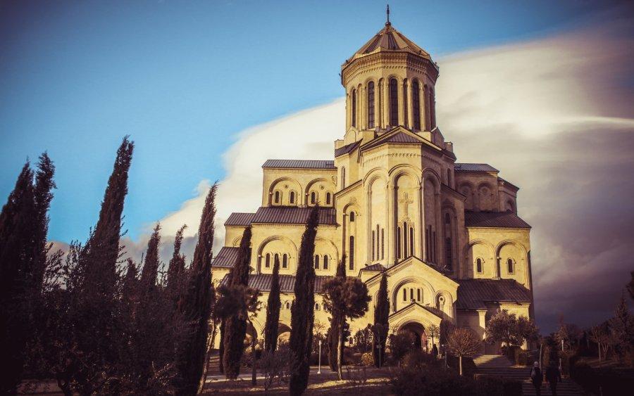 Die Sameba-Kathedrale in Tiflis