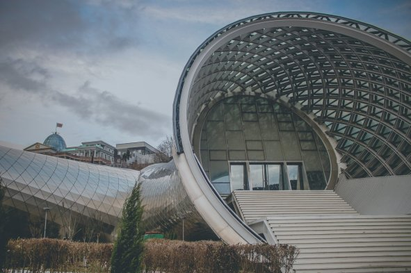 Neue Bauten in Tbilisi