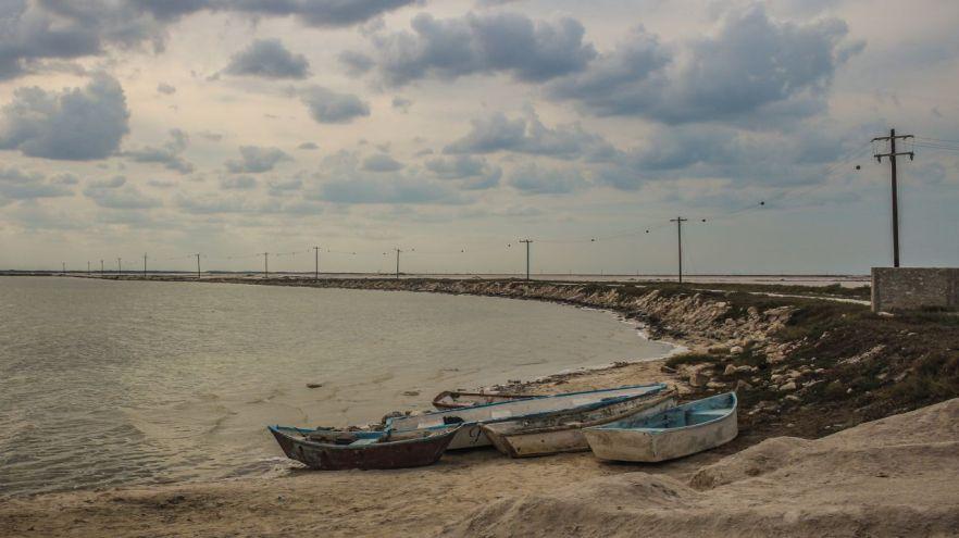 Boote in Las Coloradas