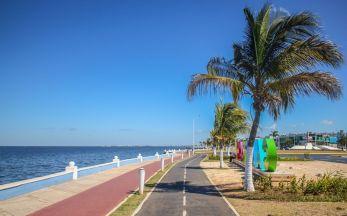 Malecon am Strand von Campeche