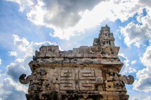 Chichén Itzá, Relief
