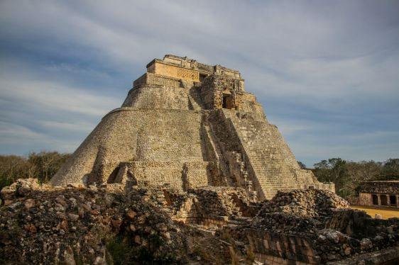 Uxmal, Pyramide des Zauberers