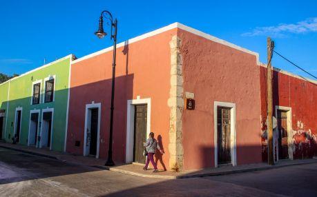 Valladolid Häuserecke