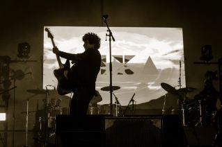 Xixa live auf dem Vive Latino Festival