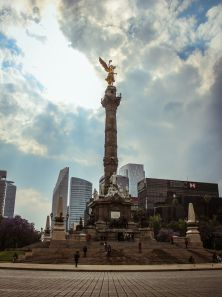 Angel de la Independencia, Reforma, Mexico City