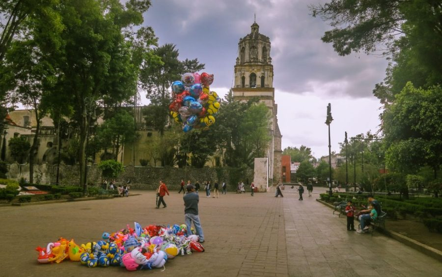 Coyoacan, ein Teil von Mexico-City