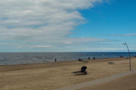 Strand in Jurmala