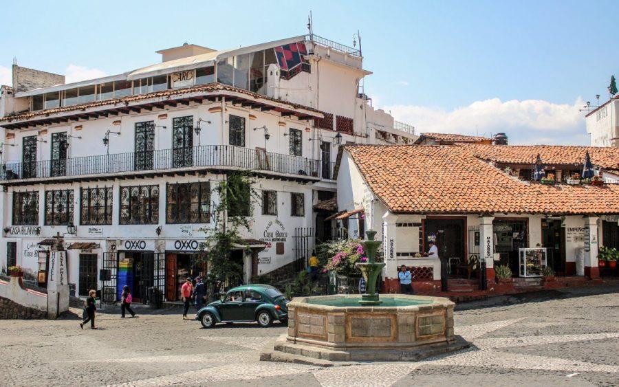 Straße in Taxco