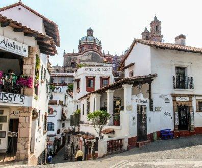 Innenstadt von Taxco