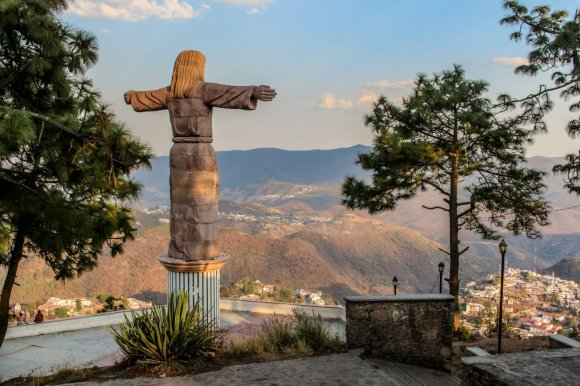 Christusstatue in Taxco