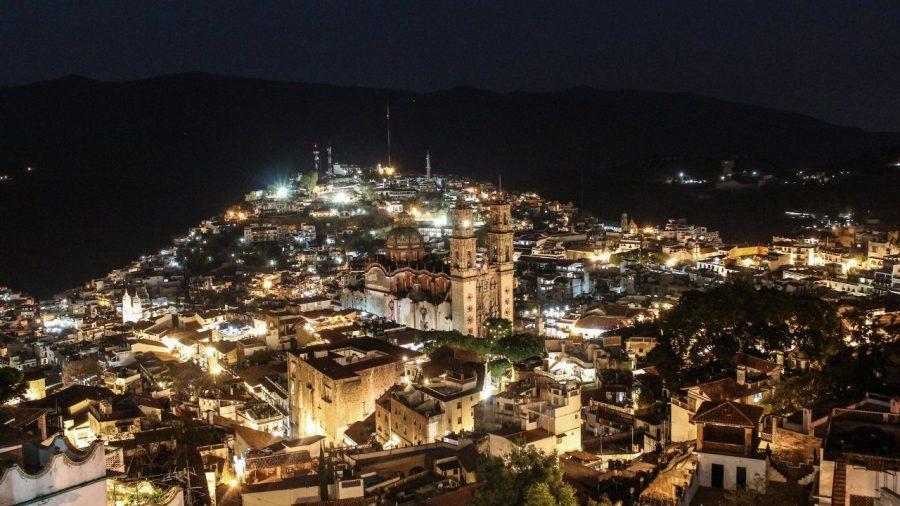 Taxco in der Nacht