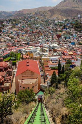 Seilbahn in Guanajuato