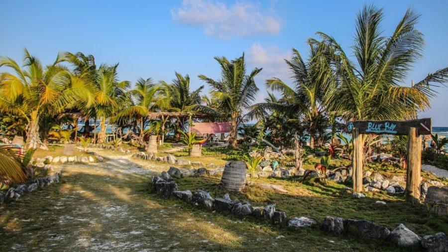 Am Strand von Mahahual