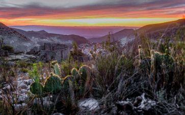 Sonnenuntergang in Real de Catorce