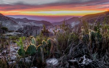 Sonnenuntergang in Real de Catorce