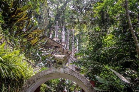 Eingangstor zu Las Pozas