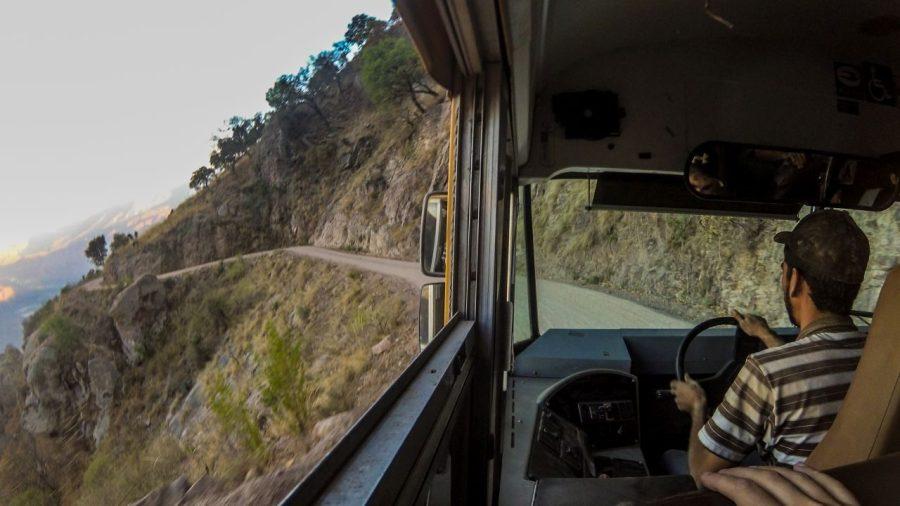Fahrt nach Urique in die Kupferschlucht