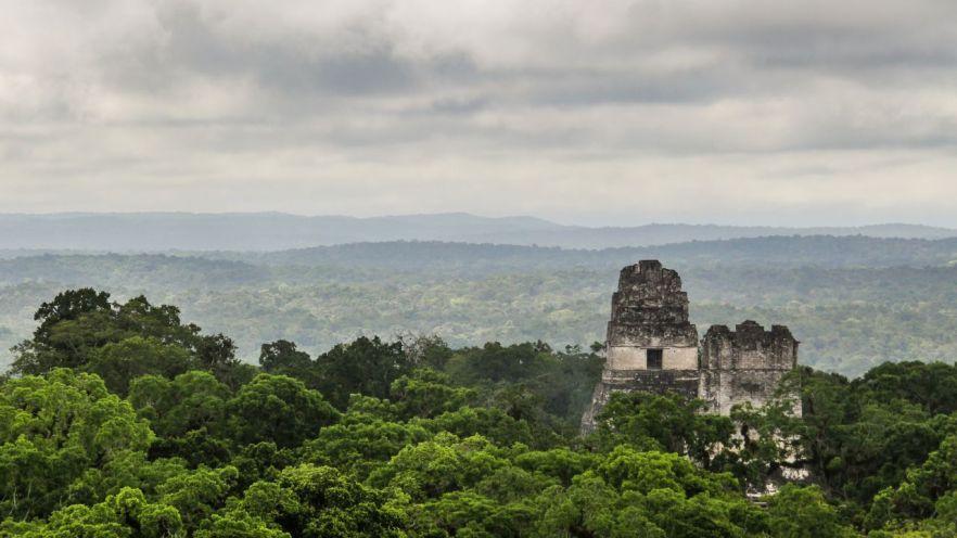 Tikal Aussicht