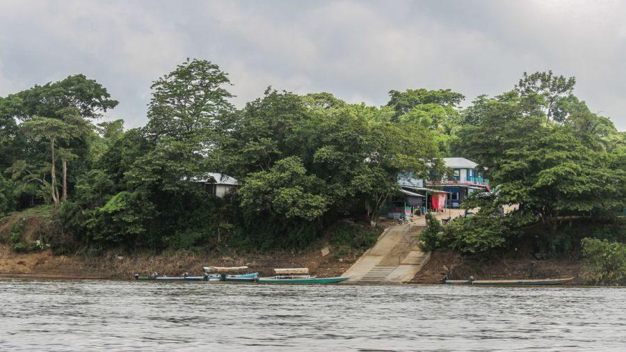 Grenze von Guatemala.