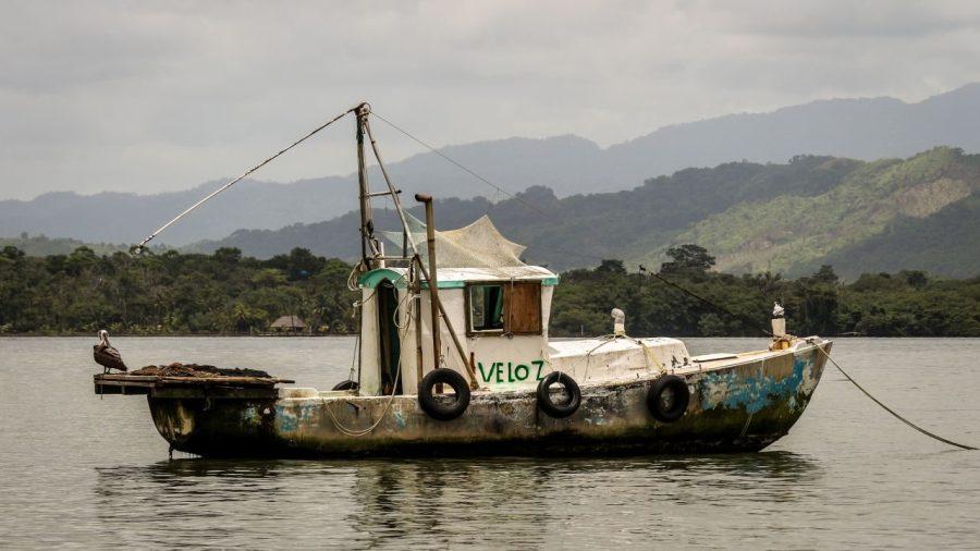 Schiff auf dem Rio Dulce