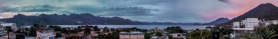 Panorama von San Marcos la Laguna