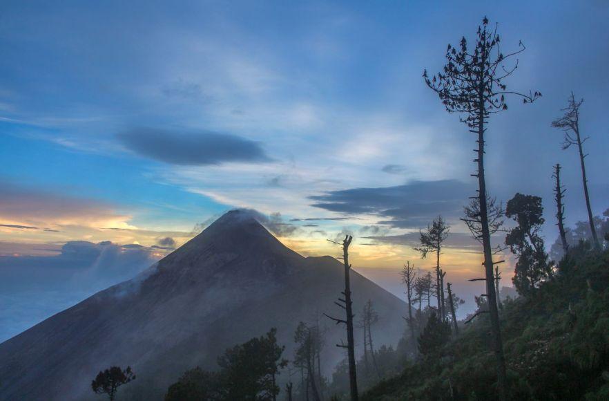 Vulkan Fuego, Sonnenuntergang