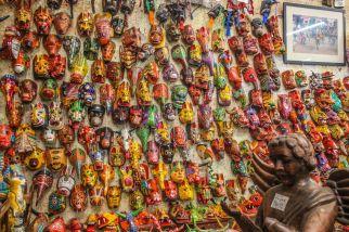 Masken in Antigua