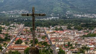 Cerro de la Cruz in Antigua