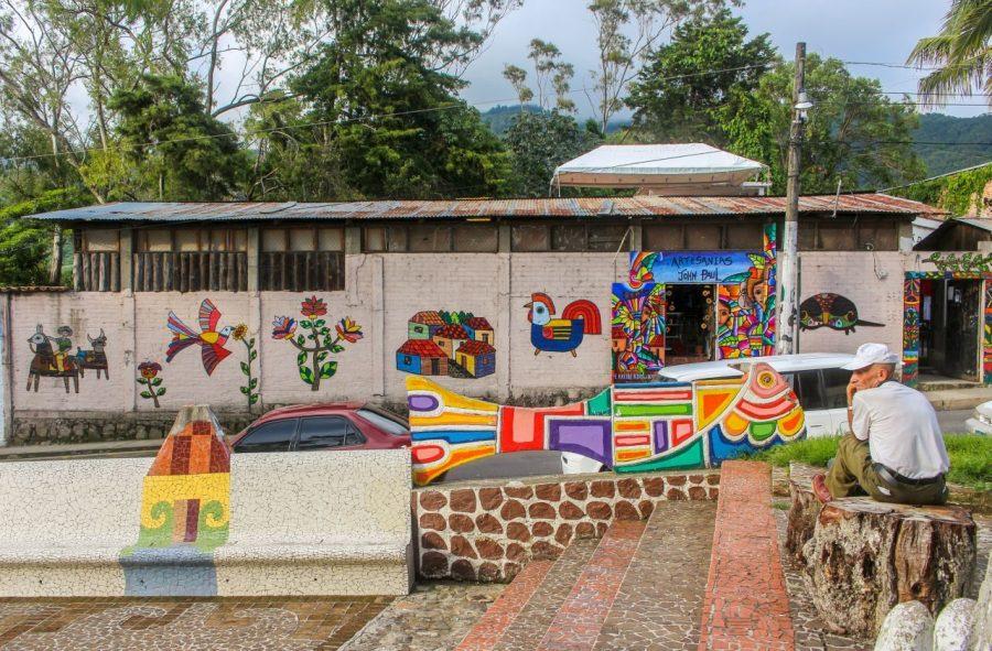Murals in La Palma, El Salvador