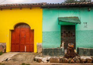 Hausfassade in Suchitoto