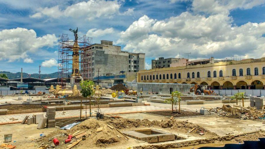 Baustelle in San Salvador