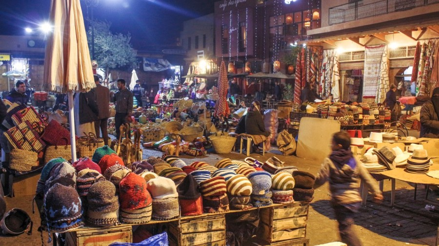 Marktplatz in Marokko
