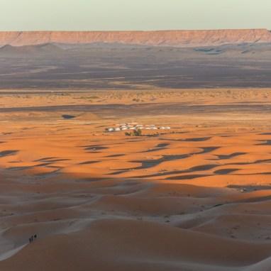 Erg Chebbi und die Wüste Sahara in Merzouga, Marokko