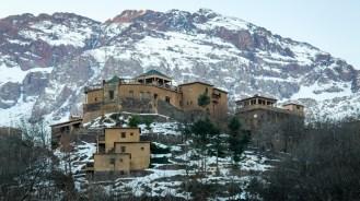 Das Bergdörfchen Imlil in Marokko