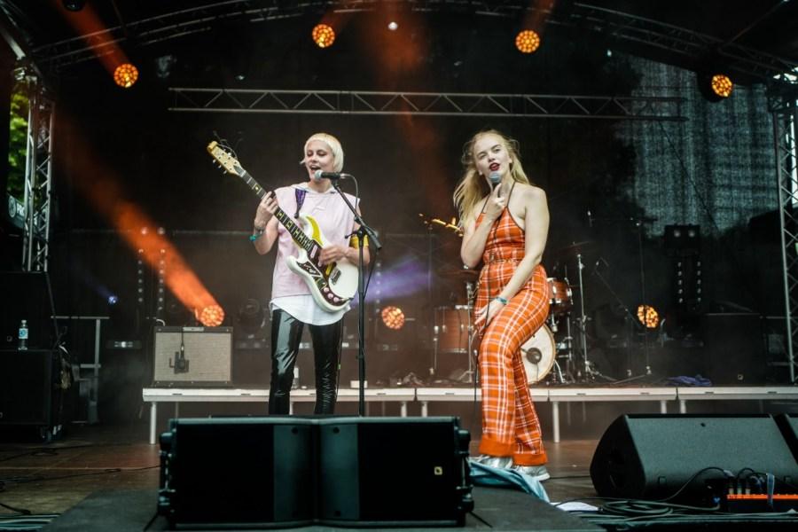 Dream Wife live auf dem lunatic Festival 2018