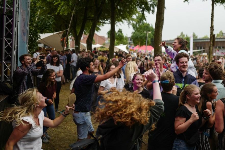 Publikum auf dem lunatic Festival